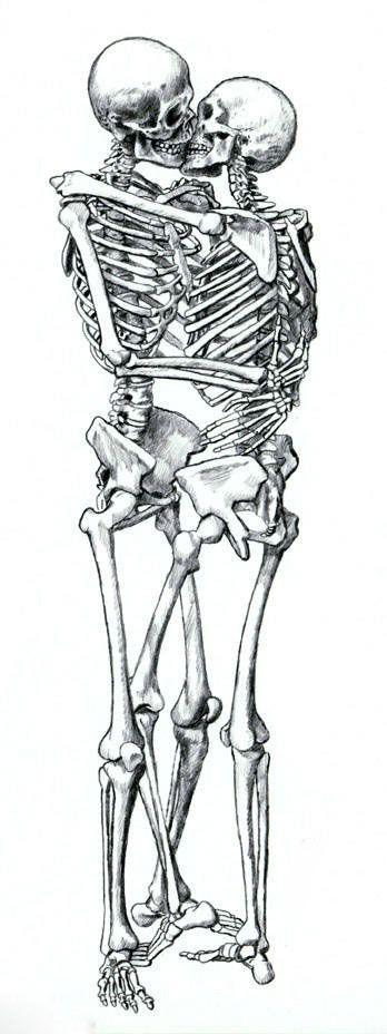Pin De Luis Enrique En Variedad Skull Kissing Drawing Y Art