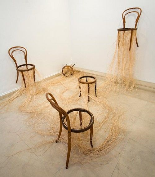 Galerie Piece Unique Pablo Reinoso Art Chair Sculptural Chair Art Object
