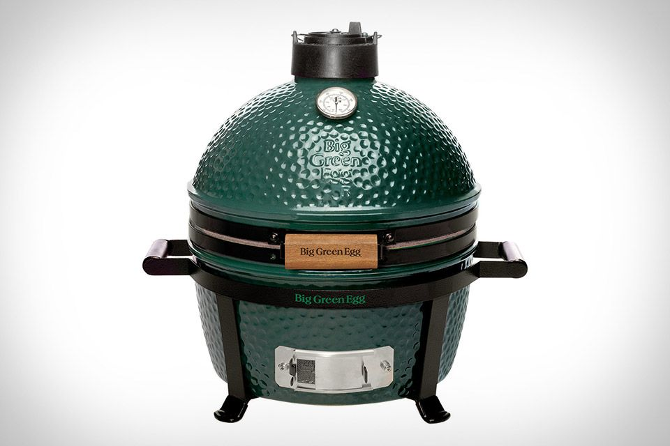 Big Green Egg Kamado Grill, Ceramic Grill, Charcoal Smoker