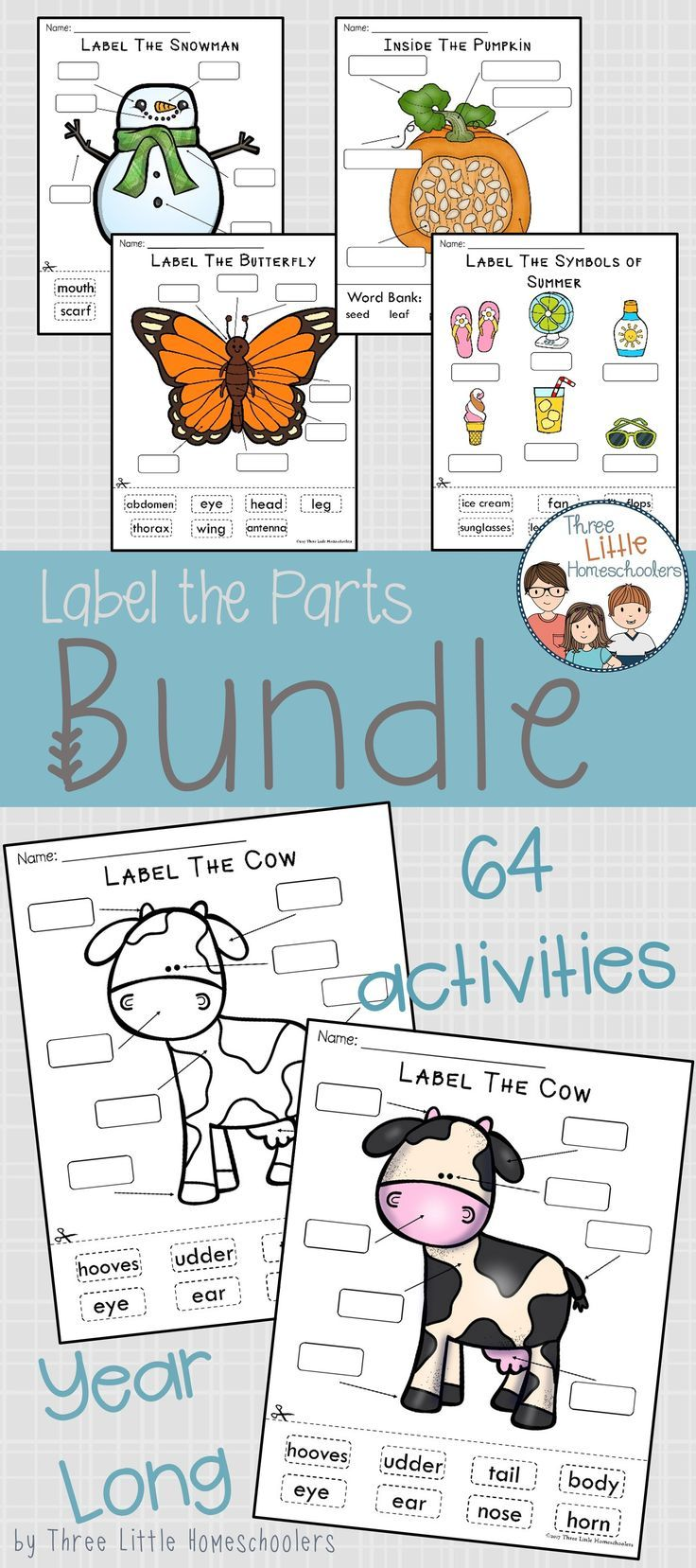 Labeling Center Year Long Bundle - exclusive mini set included | All ...