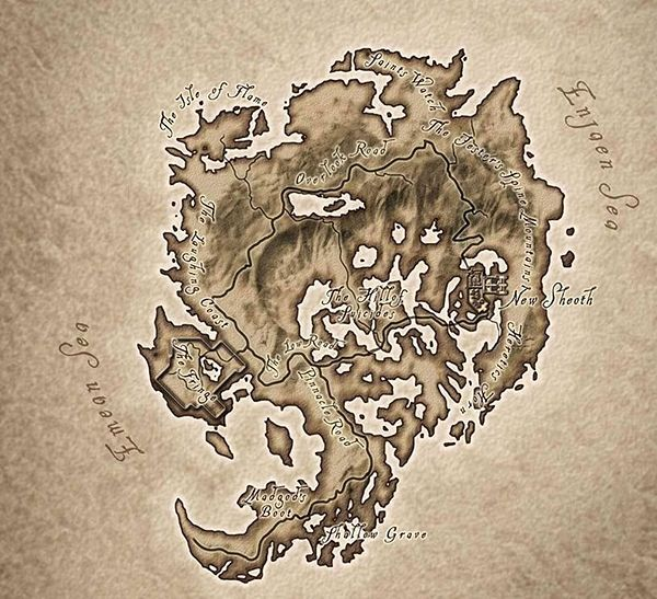Elder scrolls iv oblivion shivering isles map maps fictional elder scrolls iv oblivion shivering isles map gumiabroncs Choice Image