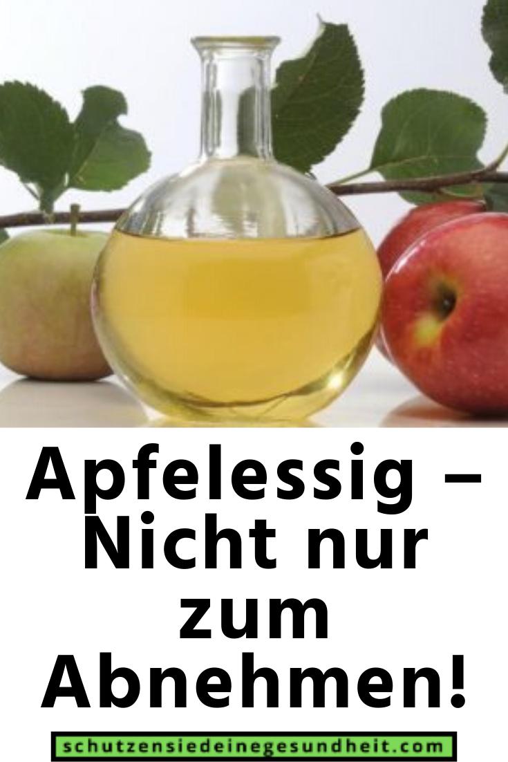 Apfelessig und Apfelwein zur Gewichtsreduktion
