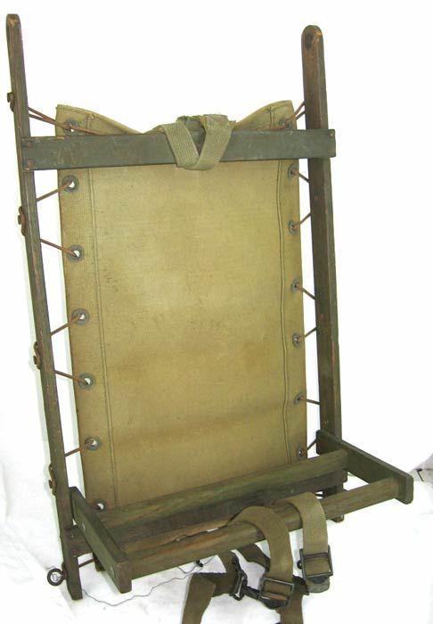Wooden-framed packboard of unidentified origin. | Simple Living ...