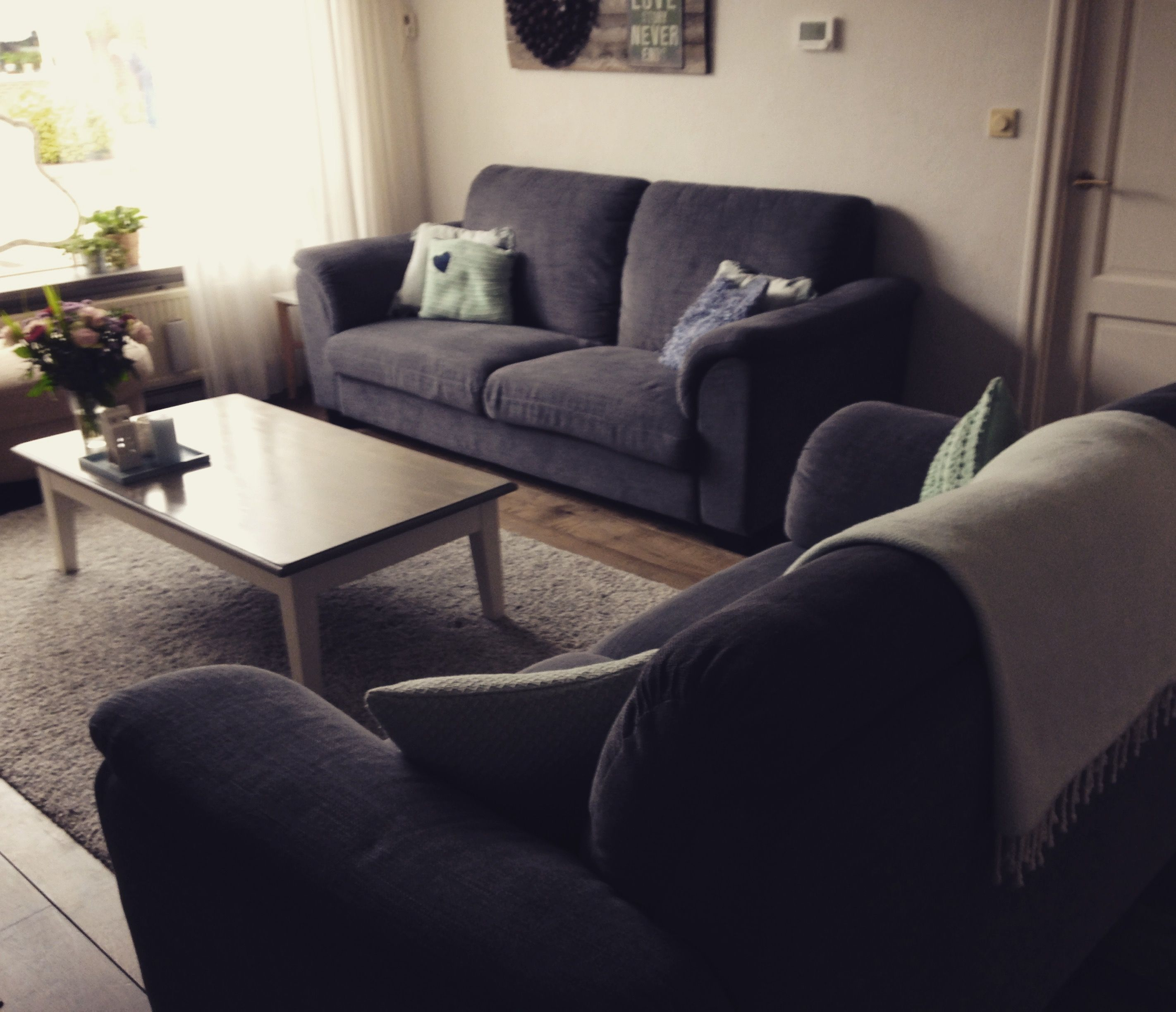 Woonkamer Bankstel Tidafors Van Ikea Ikea Sofa Home Decor Furniture