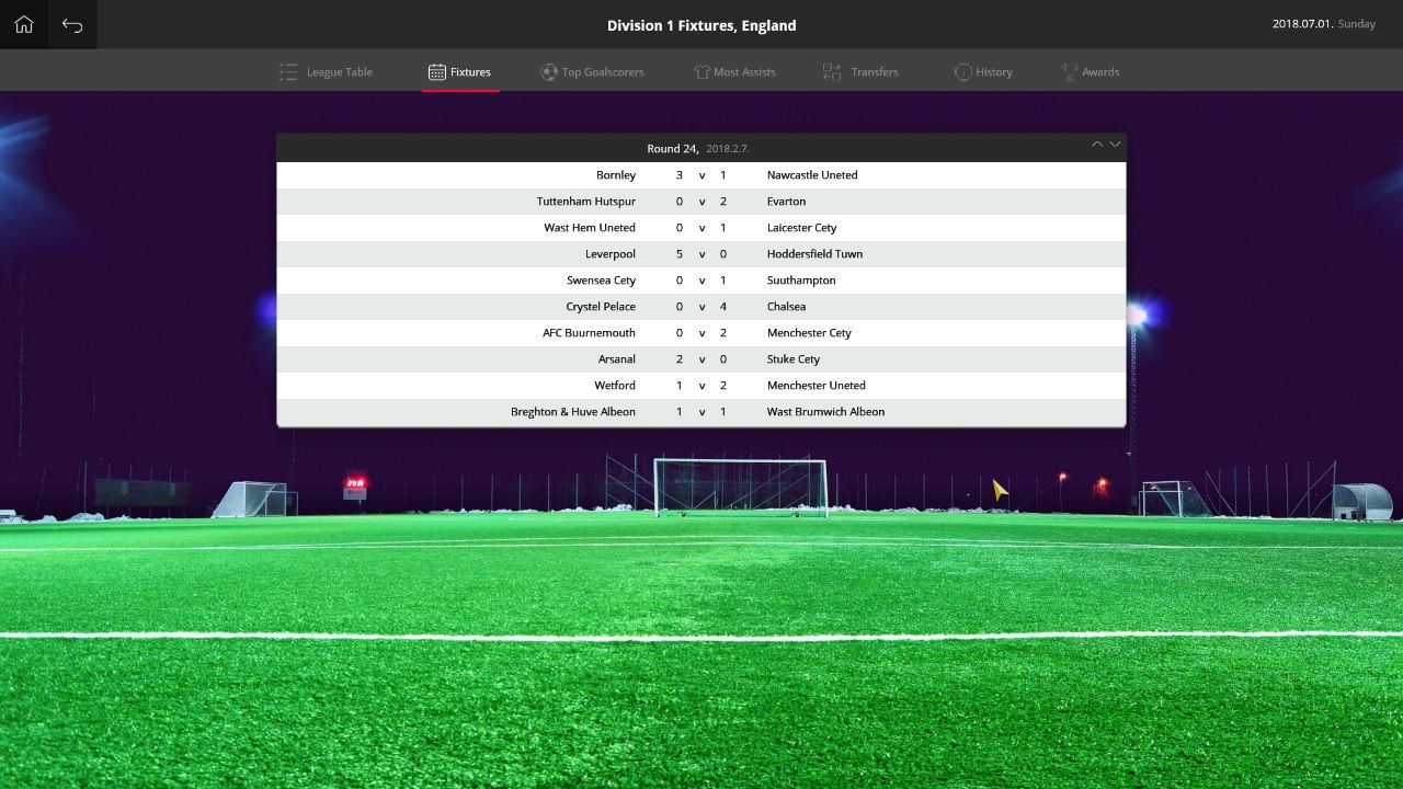 Screenshot From Global Soccer Manager 2018 Pc Game Windows Steam Gamedev Pcgame Pcgaming Steam Steamgame Management Games Cheap Games Football Manager