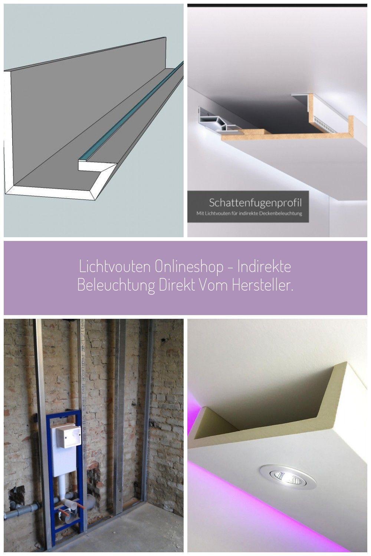 Arne Lichtweg Zur Indirekten Beleuchtung Der Decke Mit Led Indirekte Beleuchtung Beleuchtung Led