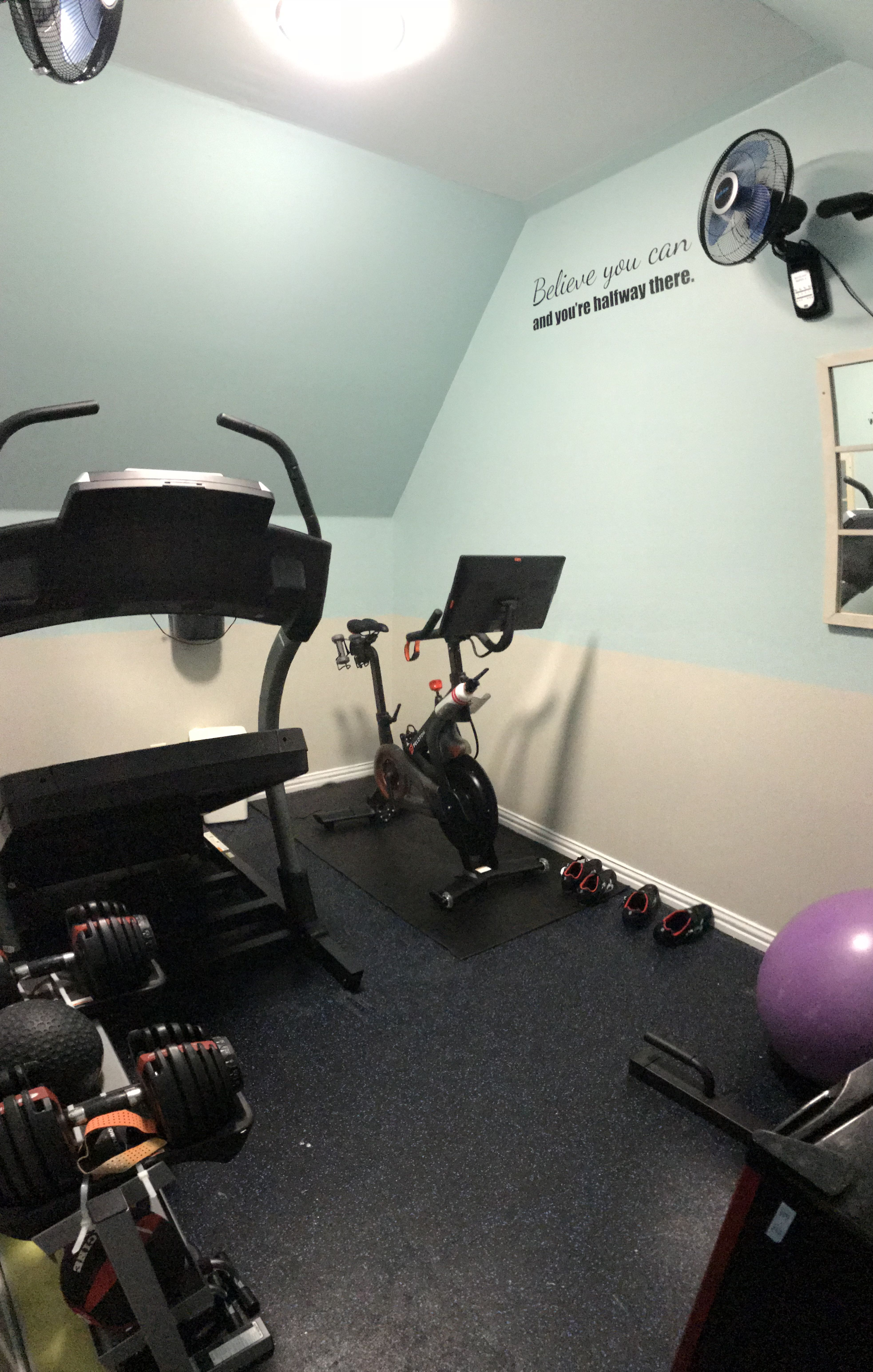 Small 8 X 11 Workout Exercise Room Workout Rooms Workout Exercise