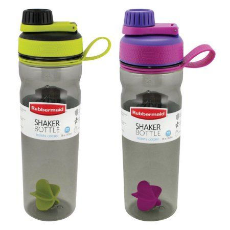 1 Rubbermaid 1896465 Shaker Water Bottle Walmart Com Bottle Shaker Bottle Rubbermaid
