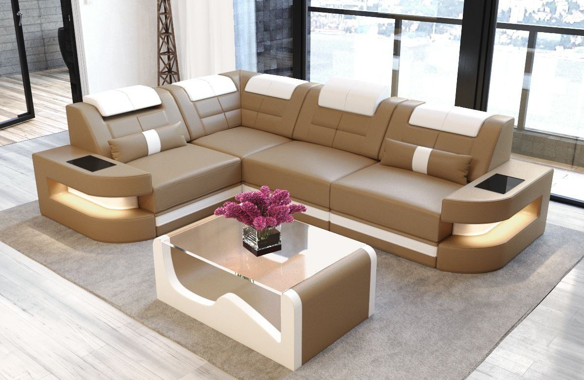 ecksofa »como«, l form (with images) | living room sofa design