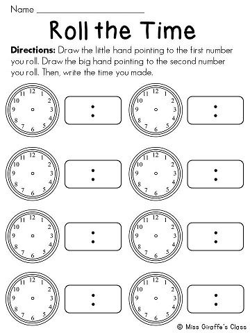 telling time to 5 minutes math stations math math stations homeschool math math school. Black Bedroom Furniture Sets. Home Design Ideas