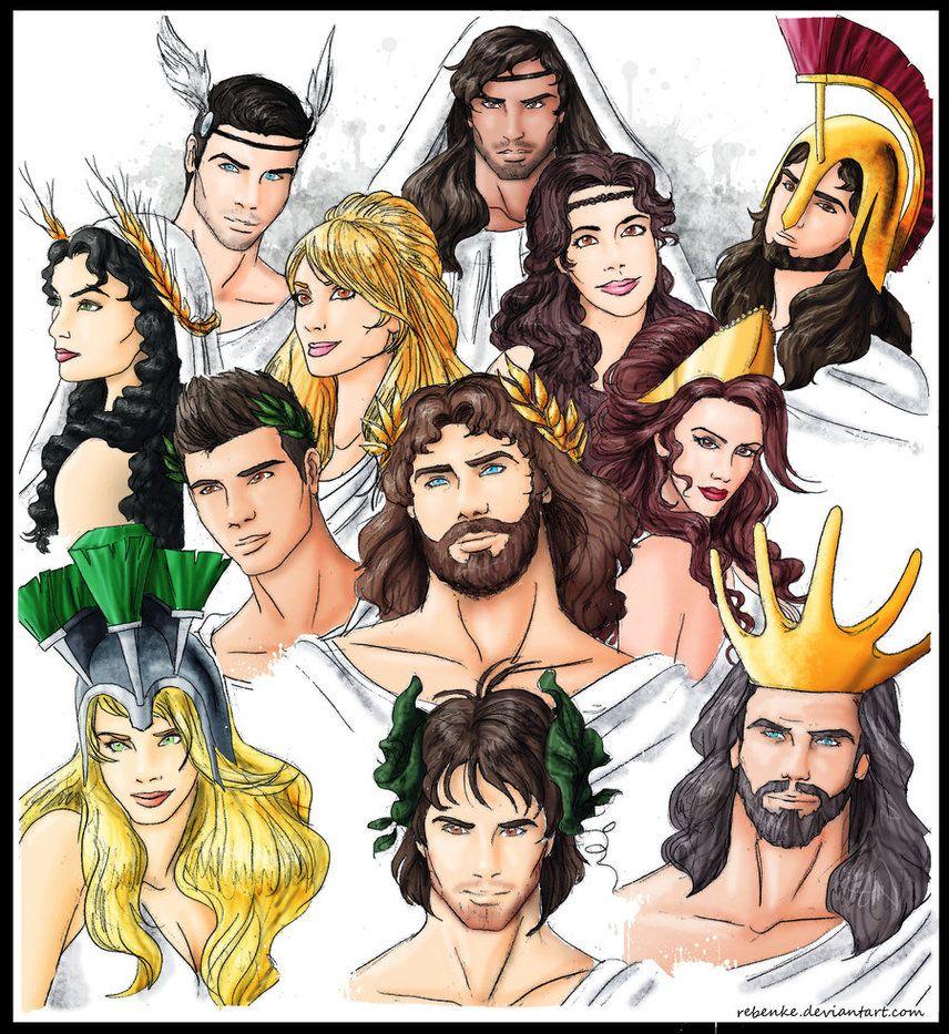 Pantheon of Olympian gods | God and Goddesses | Pinterest ...