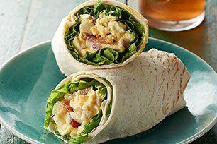 "Egg Salad ""BLT"" Wraps"
