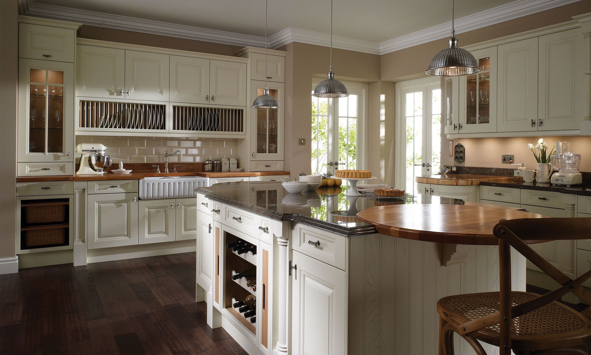 Cornell Classic kitchen design, Kitchen design small