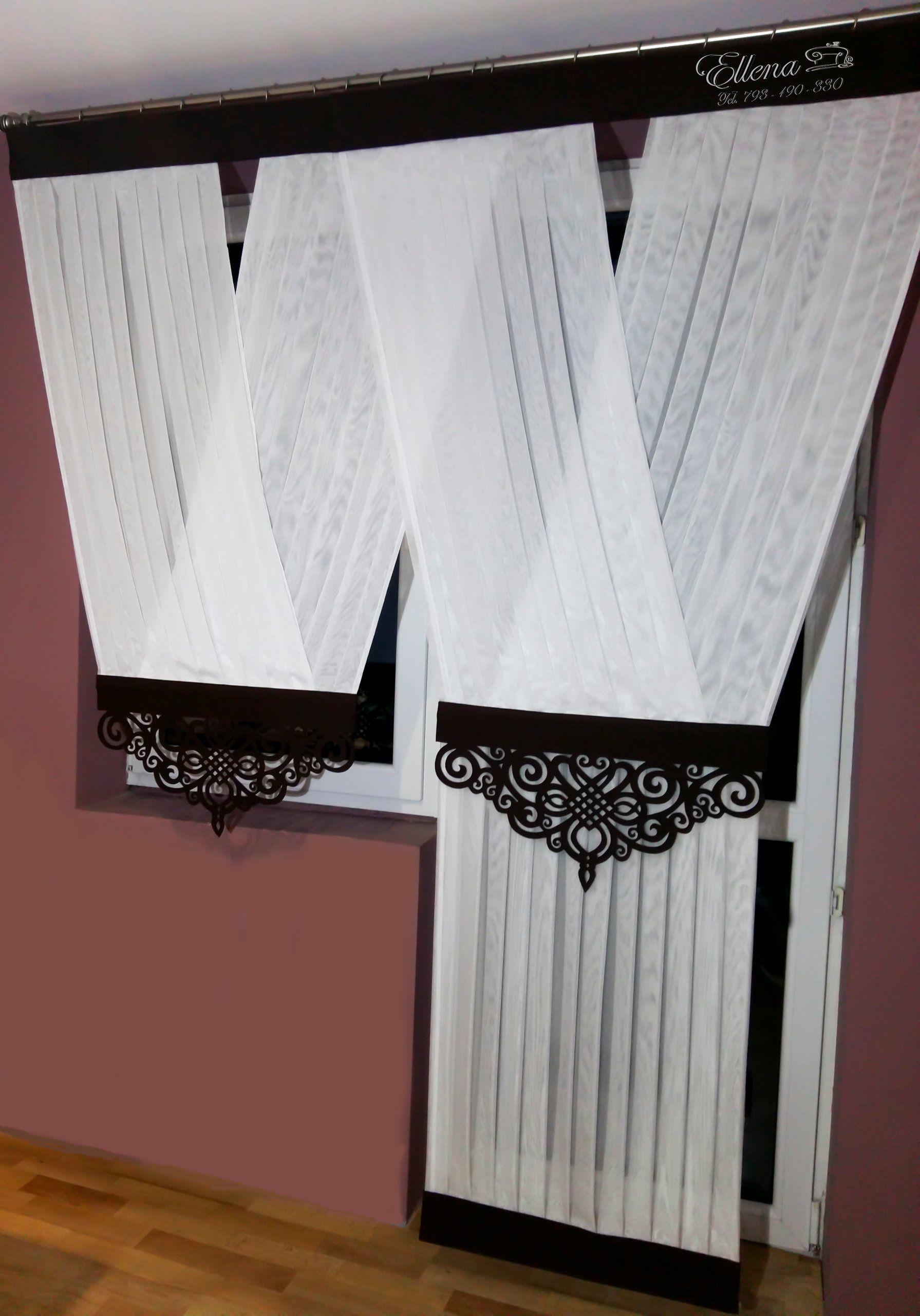 V Ka Balkonowa Z Azurem 15 Wzorow Bez Prasowania Curtains Living Room Curtain Styles Curtains