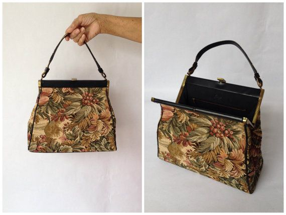 Vintage 60s Handbag , Garey Tapestry Handbag #vintage #bestofvintage #floralbag #floralpurse #floralhandbag #vintagepurse #vintagehandbag #vintagebag #tapestry #tapestrypurse #vintagetapestrypurse #gareyhandbag #1960s #1960sfashion #1960sstyle #60sfashion #60sstyle #vintage60s #60spurse #60shandbag #60sbag #1960shandbag #1960spurse #1960sbag #vintagefloralpurse #shopnow #shopvintage #ootd #accessories #cutepurse #beautifulpurse