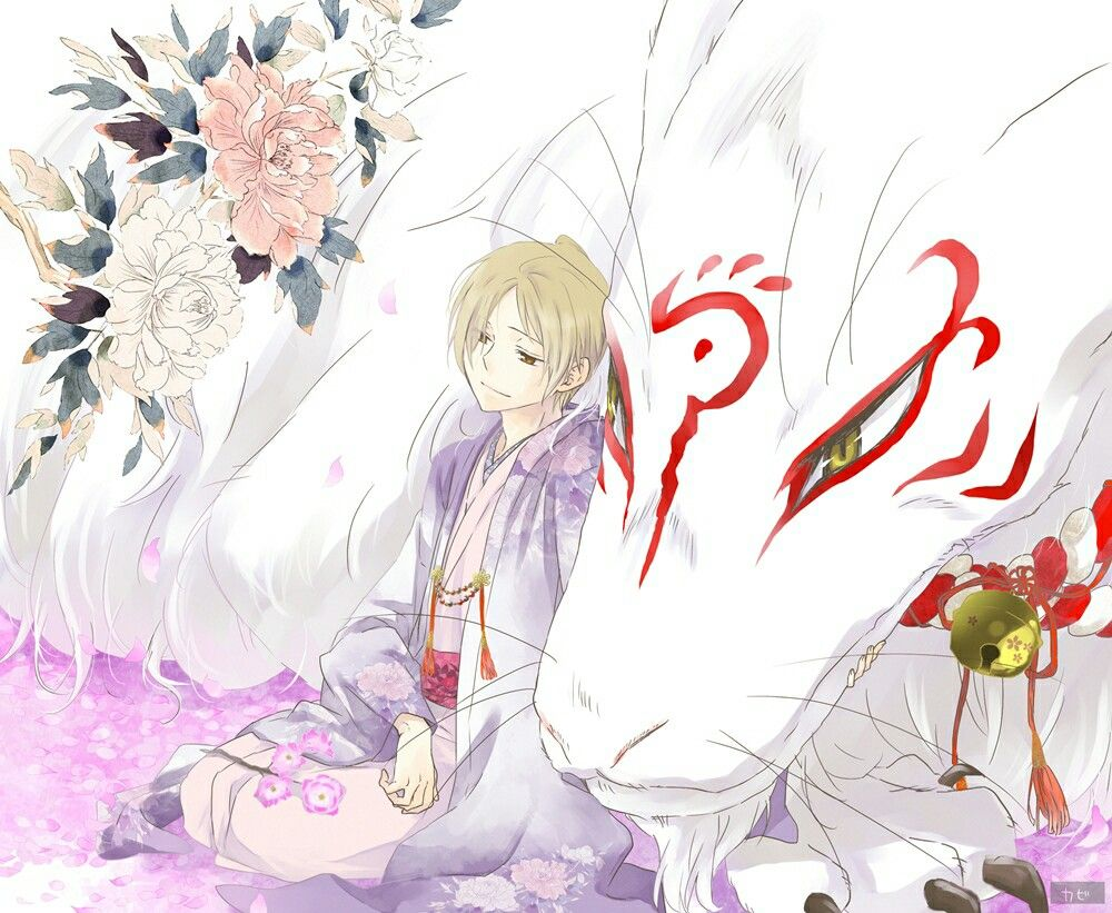 Nyanko sensei true form and Natsume from Natsume Book of Friends ...
