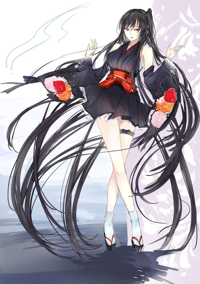 Anime by кεη∂яα sεηραι on Anime Girls Black Hair