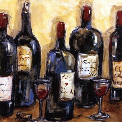 Pin By Sherie Dunn On Paint Paint Paint Wine Art Wine Painting Wine Wall Art