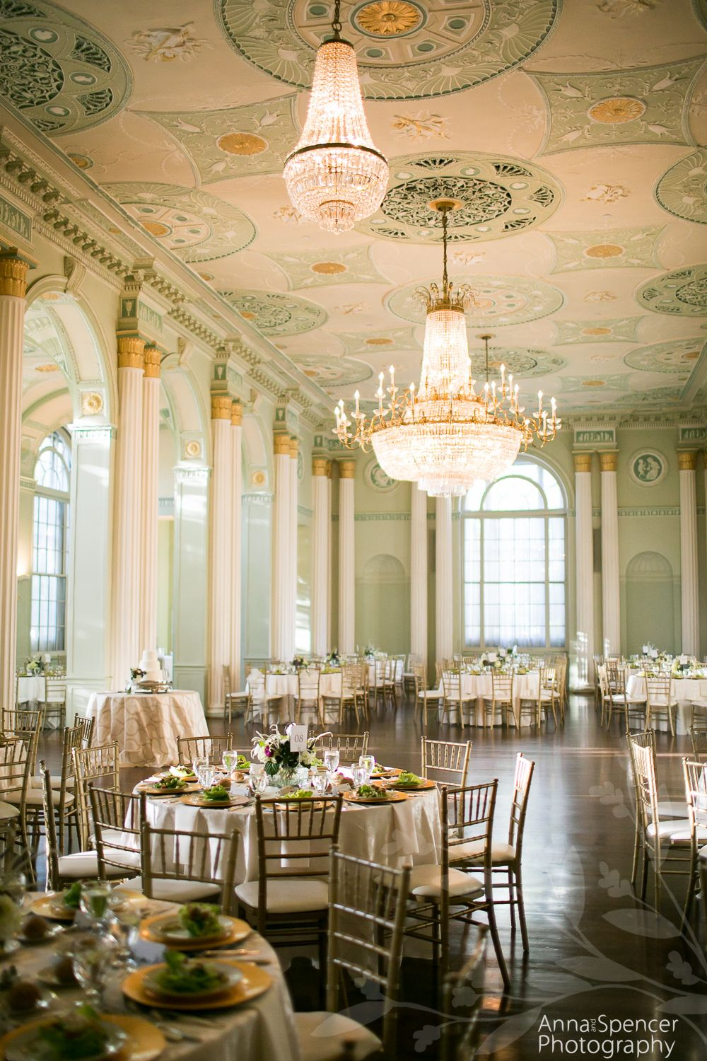 Ballroom Atlanta Wedding Reception