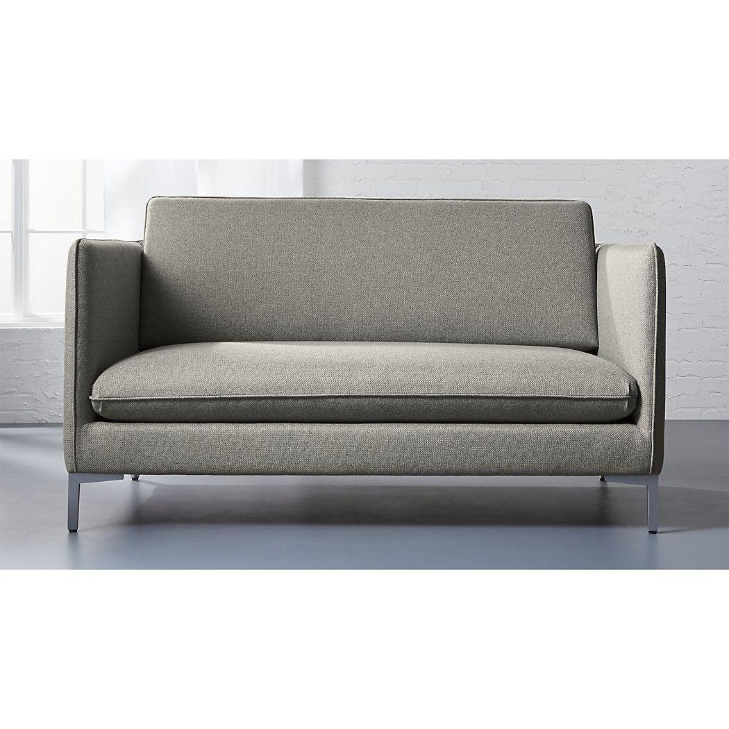 Cb2 Club Leather Sofa Acnl Rose Custom Apartment Savile Black Tufted