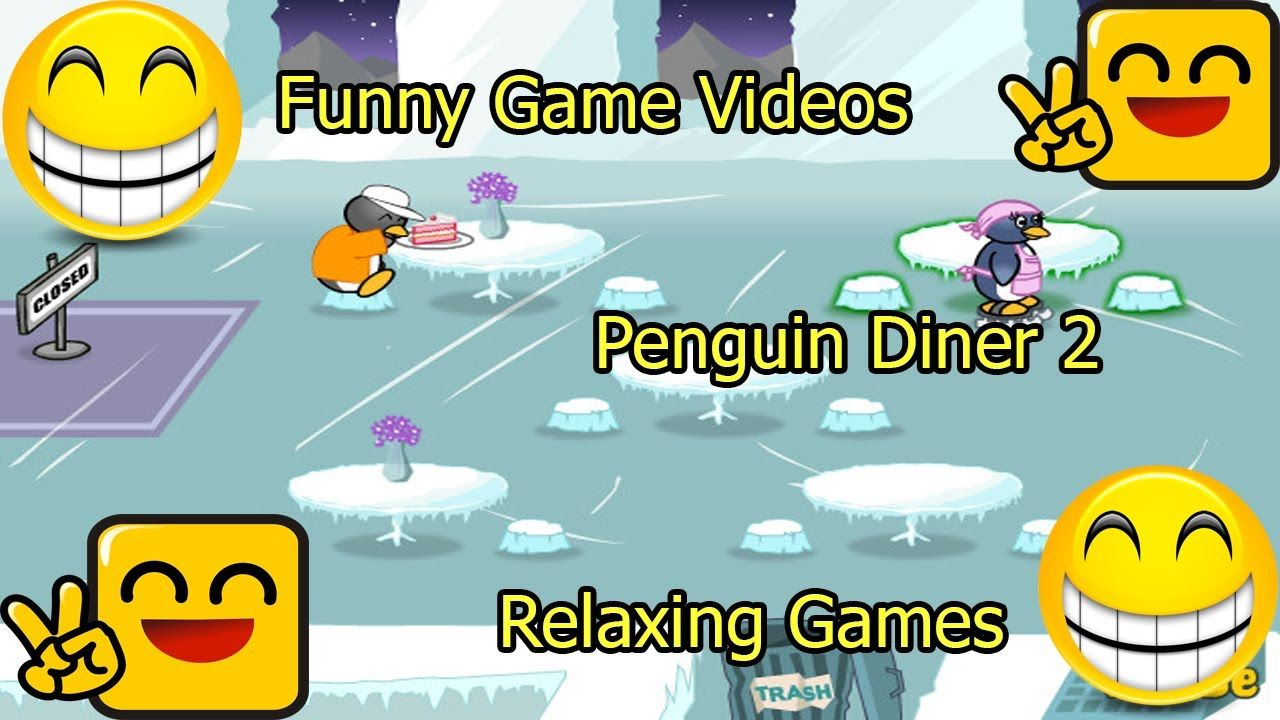 Funny Game Videos Relaxing Games Penguin Diner 2 7