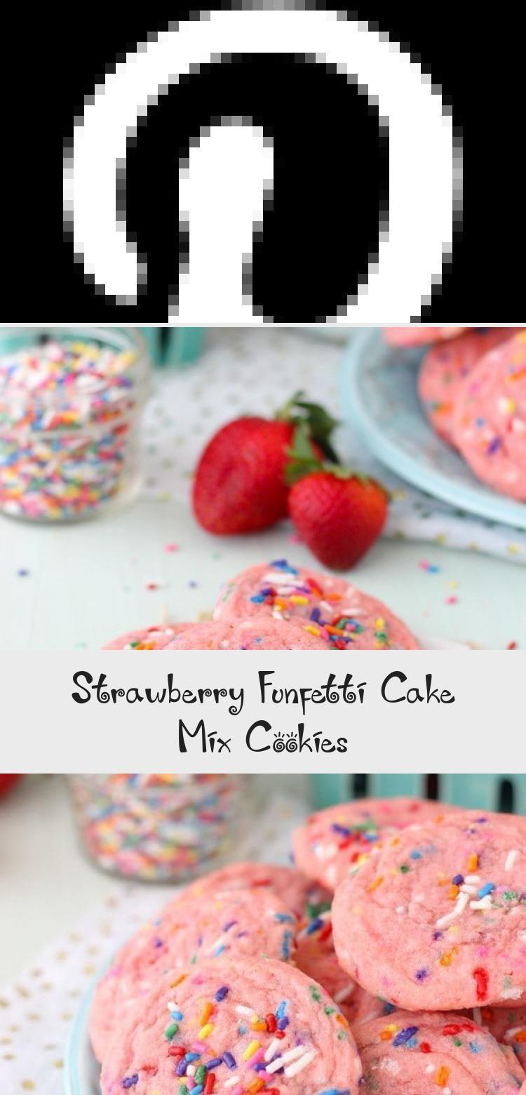 Photo of Erdbeer-Funfetti-Kuchen-Mix-Kekse #PinataKuchenGeburtstag #PinataKuchenEinfach ….