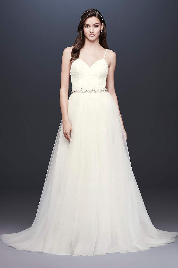 View not applicable long wedding dress at davidus bridal going to