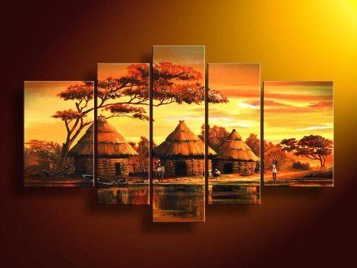 art africain paysage