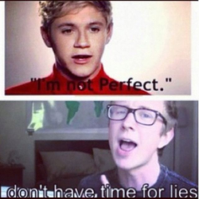 AMEN. NIALLER, YES YOU ARE PERFECT! YOUR IMPERFECTIONS ARE WHAT MAKE YOU PERFECT!!!