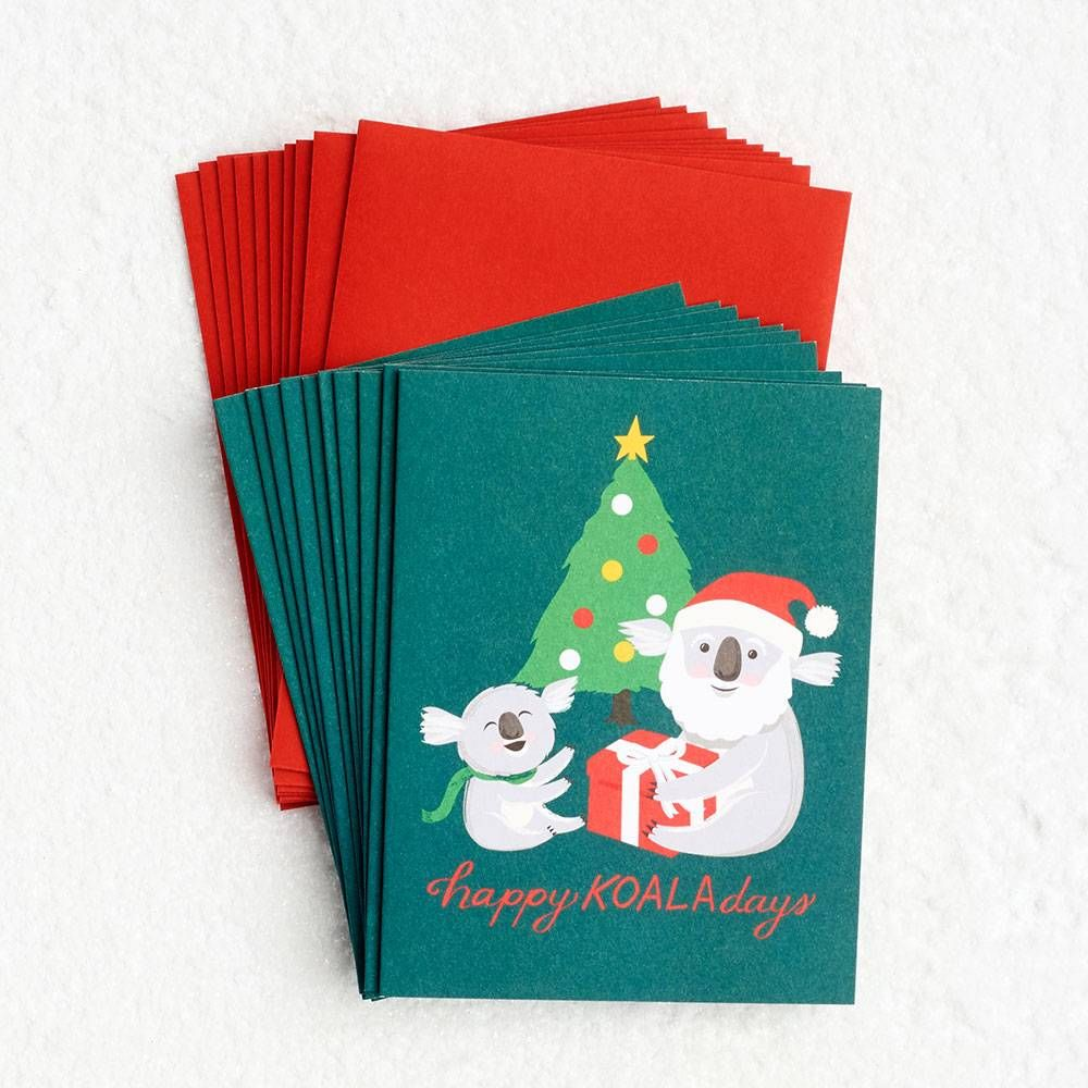 Happy Koala-days Holiday Card Set | Bears | Pinterest | Holiday ...