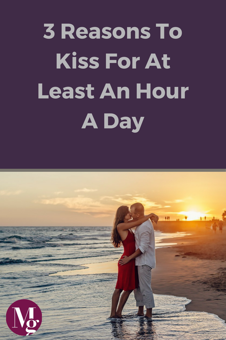Kissing boosts immune system