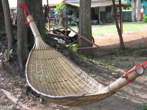 Thai Hammock Hammock Bamboo Poles Bamboo