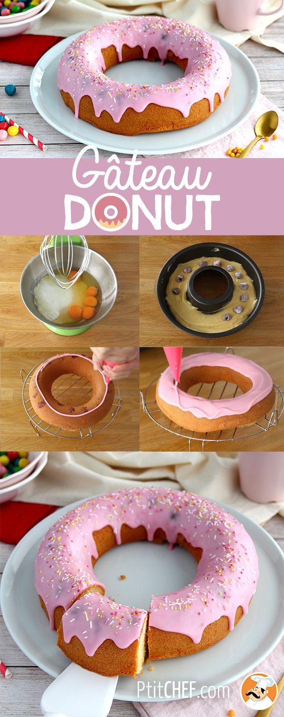 Gâteau Donut, Recette Ptitchef