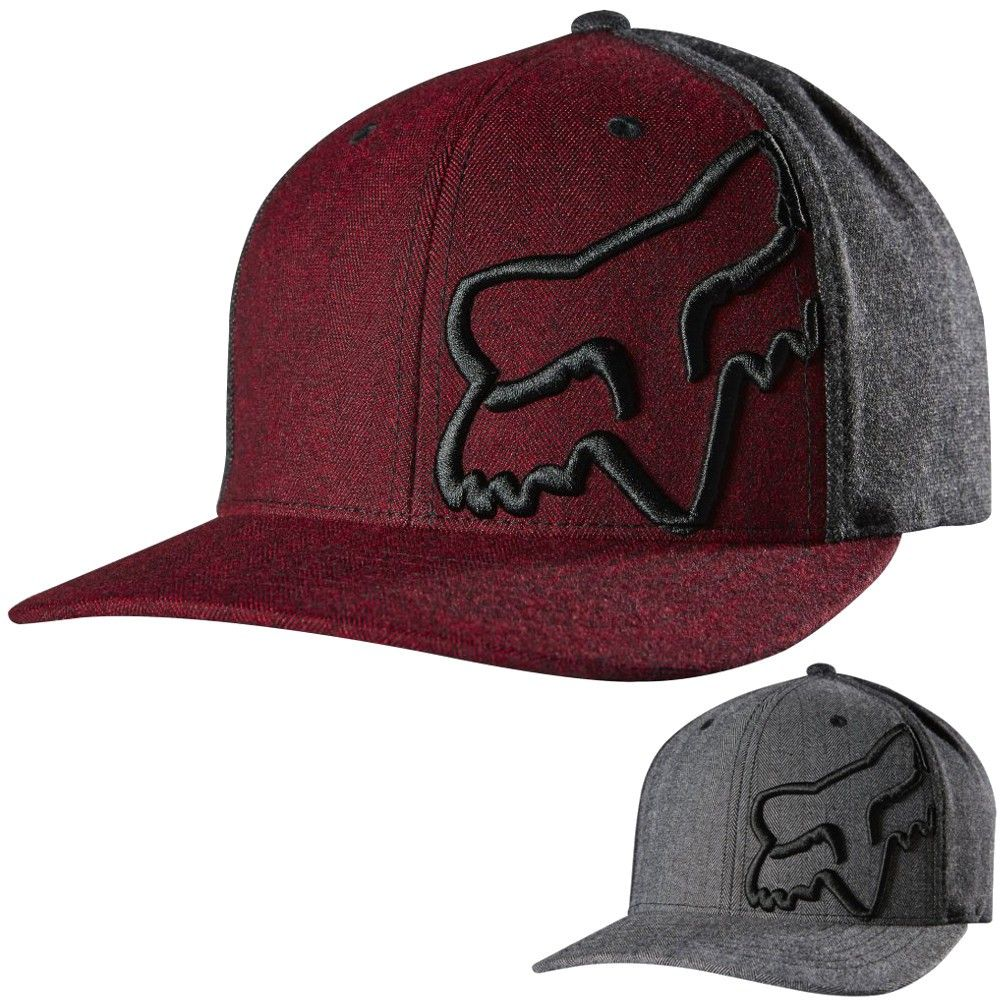 fa6f471ae83 Fox Racing Mens Rant Swivel Casual Fitted Cap MX Motocross Moto Hat ...