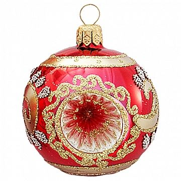 Christmas Ornaments Ball Blown Glass Reflector