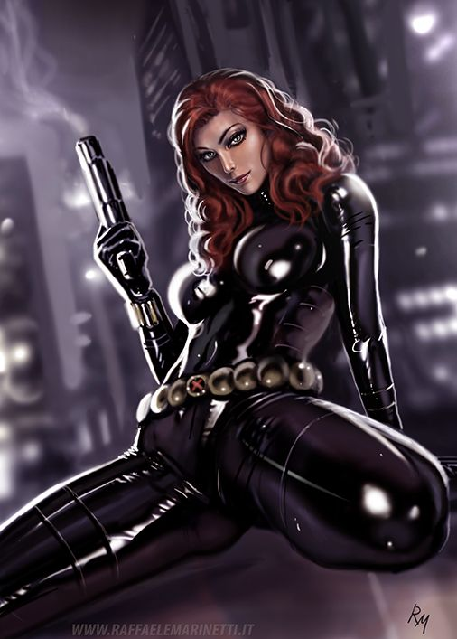 Black widow Hentai