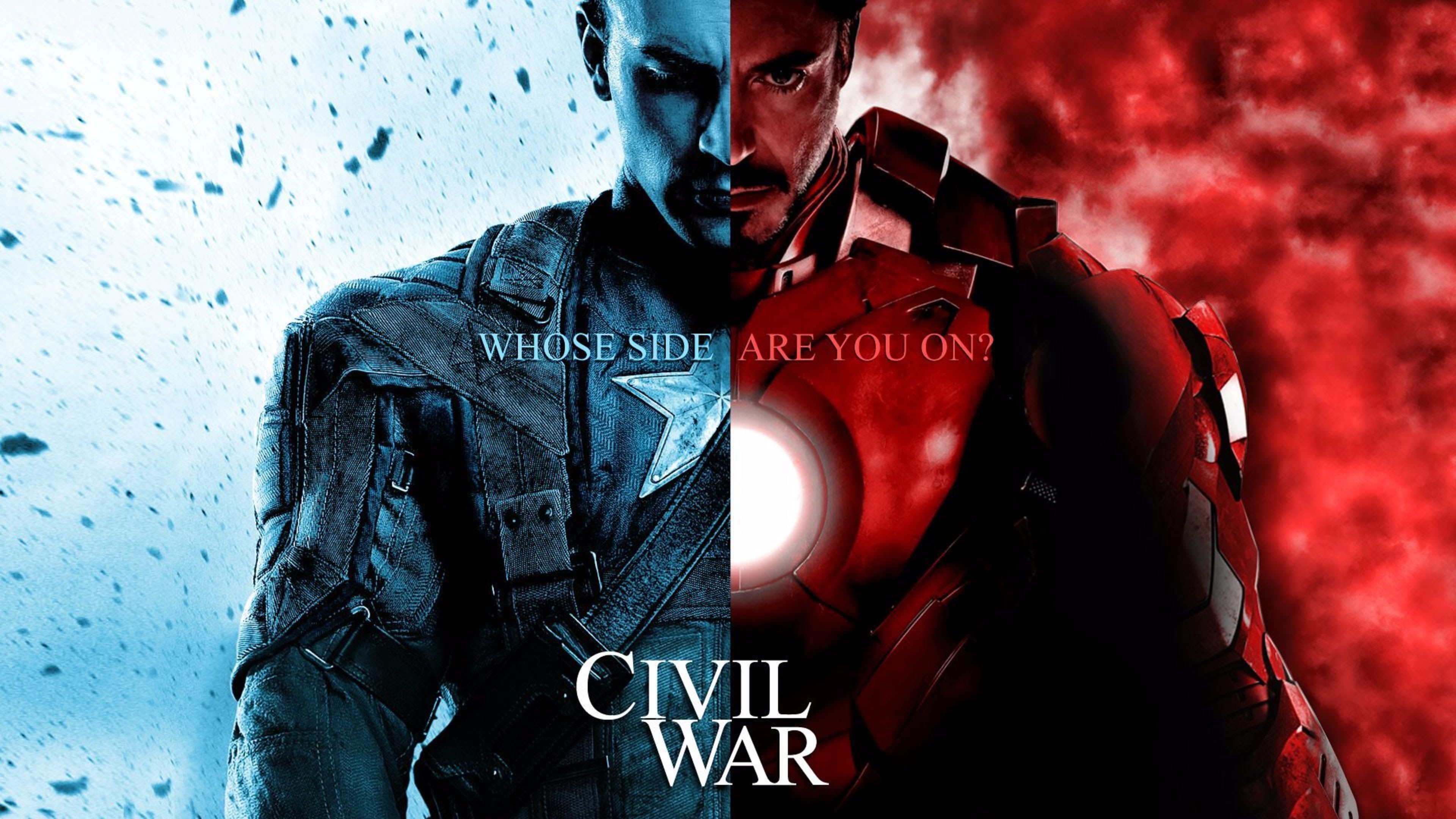 Captain America Vs Iron Man Civil War Wallpaper Pop Culture