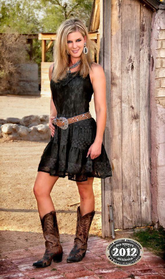 Dressy cowgirl