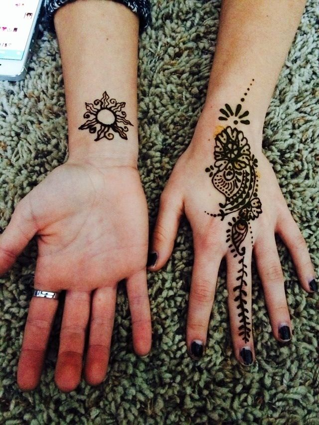 Diy Henna Tattoo Ink Without Henna Powder: Homemade Henna 😻