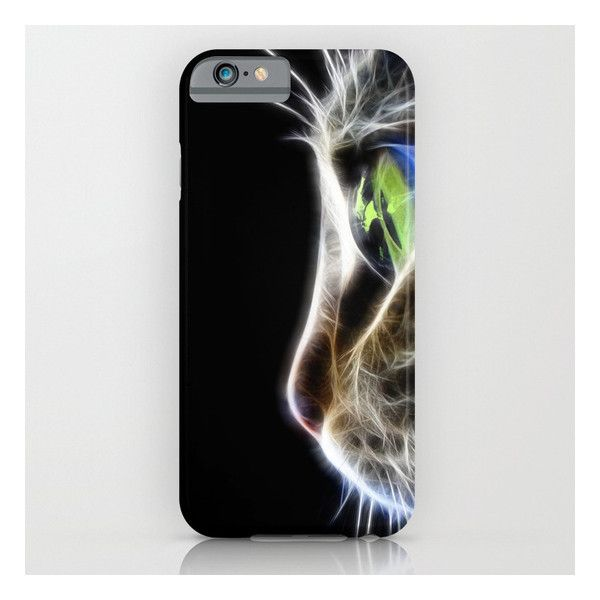 Cat iPhone 6s Case (€31) ❤ liked on Polyvore featuring accessories, tech accessories and iphone & ipod cases