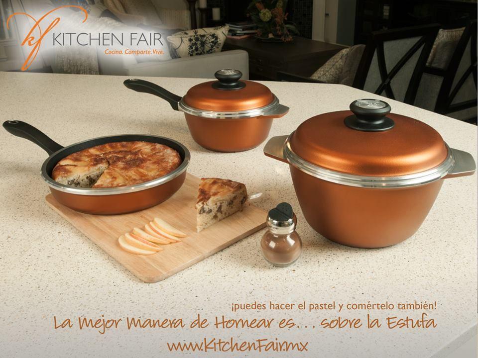 Los nuevos colores satinados kitchen fair naranja y perla for Precios de articulos de cocina