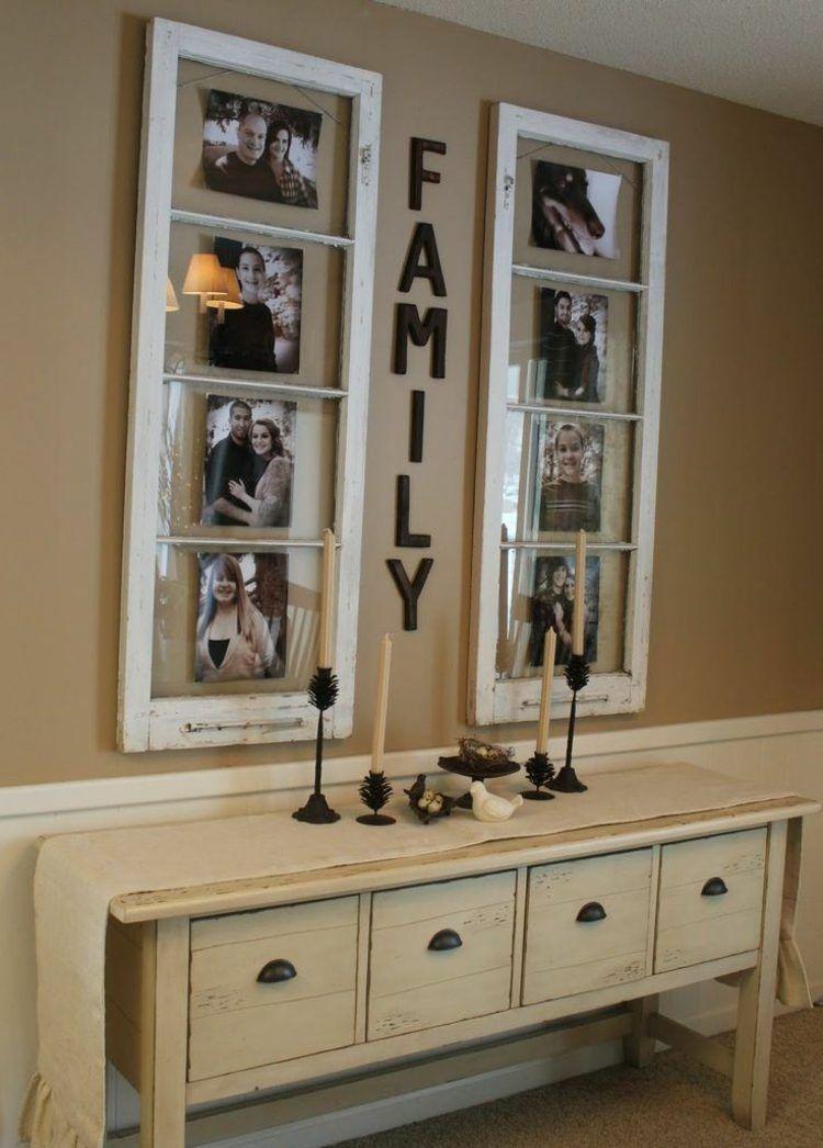 pin von andrea moser auf deko pinterest familienfotos. Black Bedroom Furniture Sets. Home Design Ideas