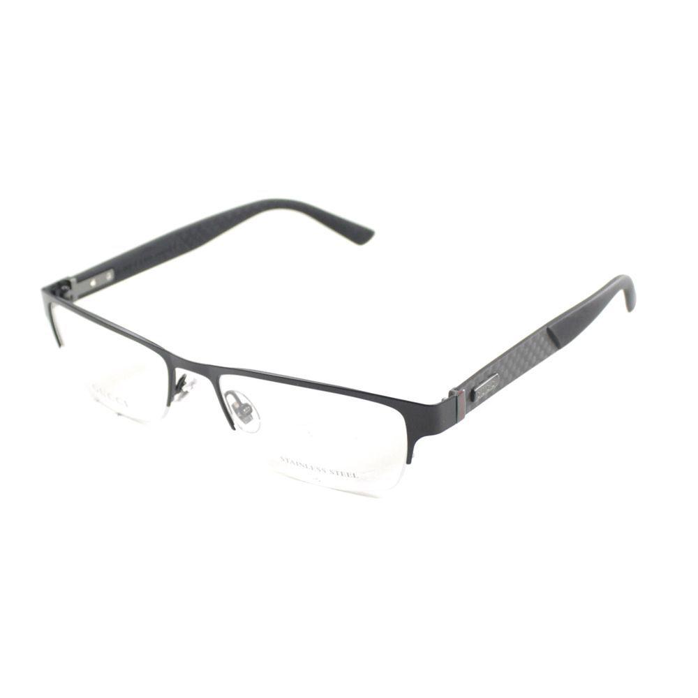 Gucci Men\'s \'GG 2250 4VH\' Semi-rimless Eyeglasses | Face accessories ...