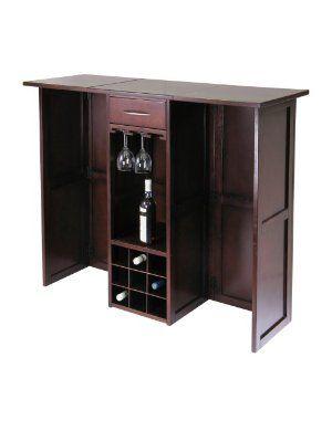 mini bar armoires de stockage armoires a vin newport fini noyer meubles