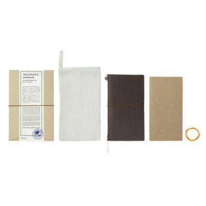 Amazon.com: Traveleru0027s Notebook Brown Leather (1, 1 LB): Office