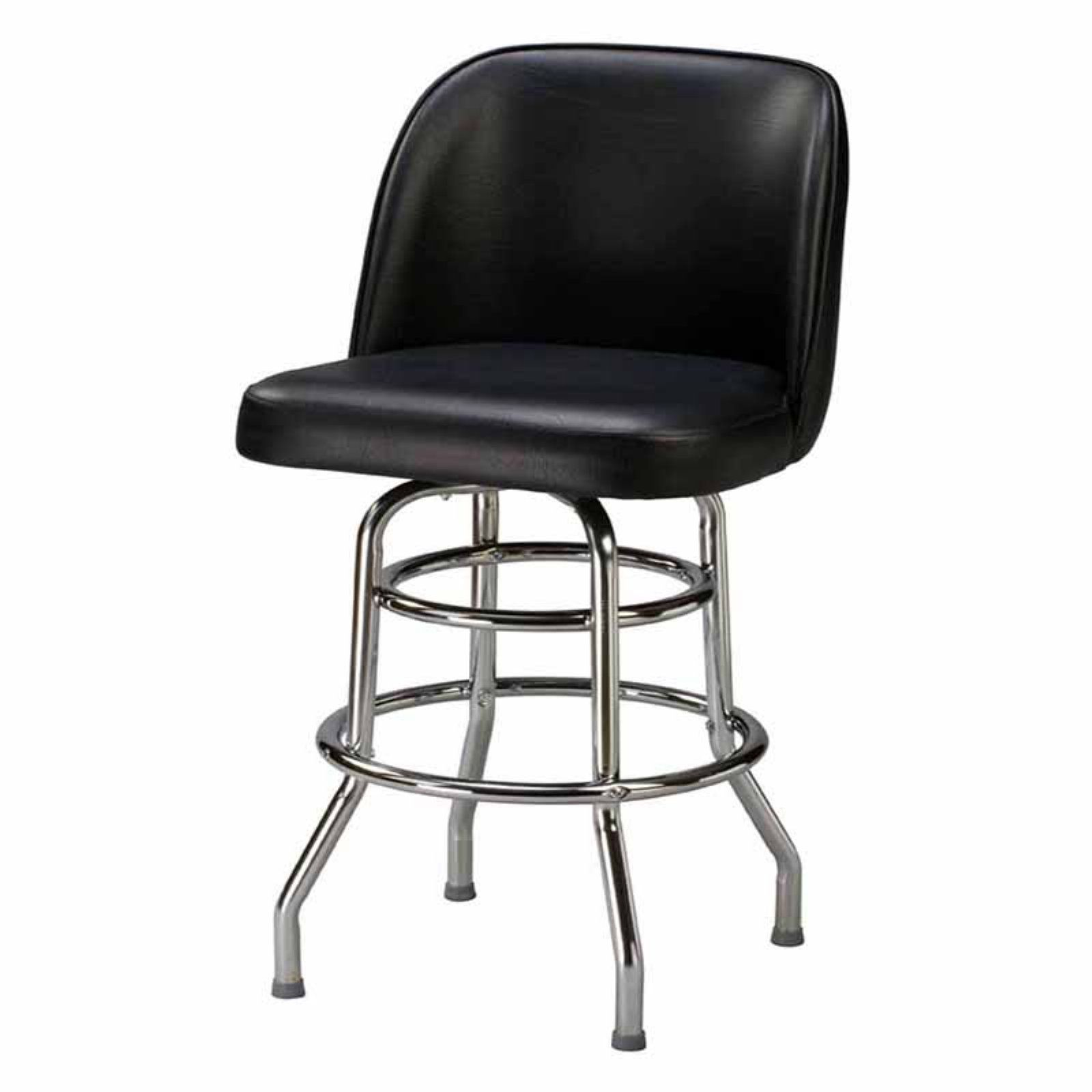 Groovy Regal Bucket Seat Large 26 In Double Ring Chrome Counter Bralicious Painted Fabric Chair Ideas Braliciousco