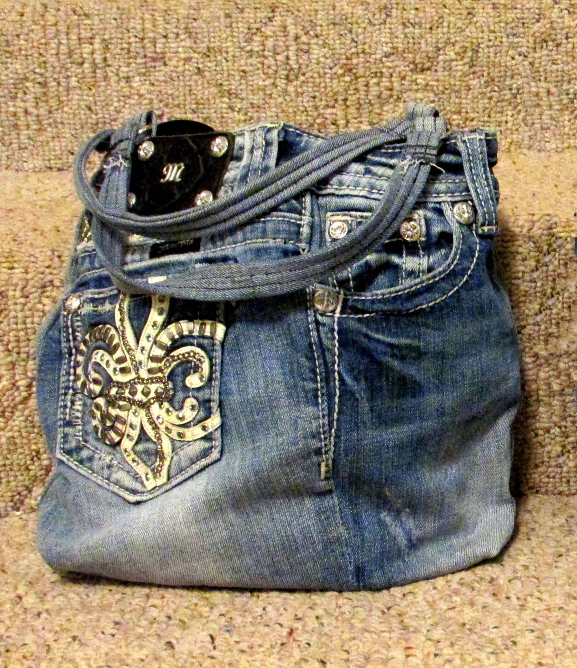 MISS ME PURSE Send me your jeans and I will make you one ...