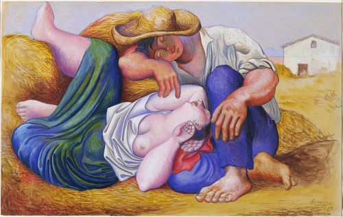 Pablo Picasso, 1919  - Sleeping Peasants. Professional Artist is the foremost business magazine for visual artists. Visit ProfessionalArtistMag.com.- www.professionalartistmag.com