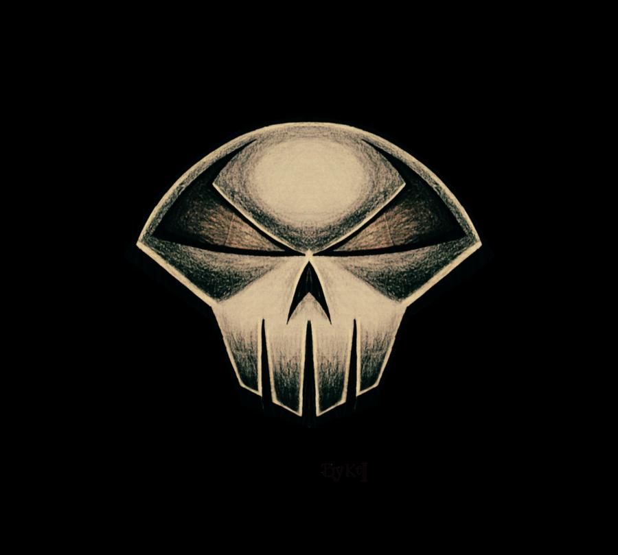 Spawn Of Skull Logo By Kellcandido On Deviantart Skull Logo Poster Art Skull