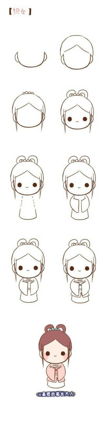 Drawing Step By Step Cute Easy 22 Ideas Drawing Little Girl